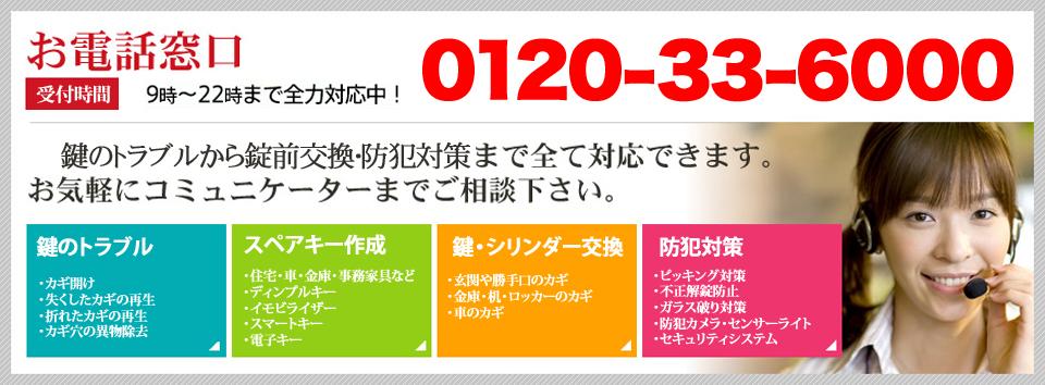 0120-33-6000